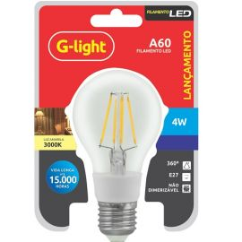 LAMPADA INC. G-LIGHT LED A60 4W E-27 BIV.    6000K